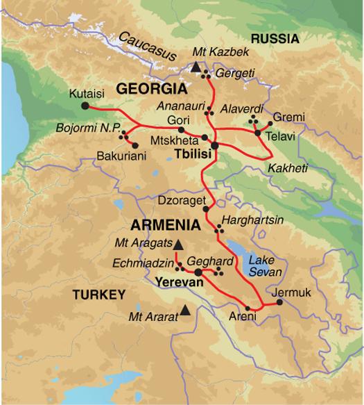 Risultati immagini per GEORGIA ARMENIA