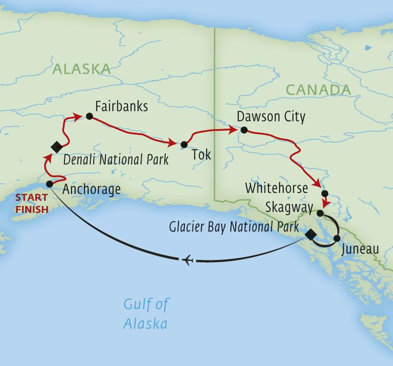Alaska Driving Tour Itinerary