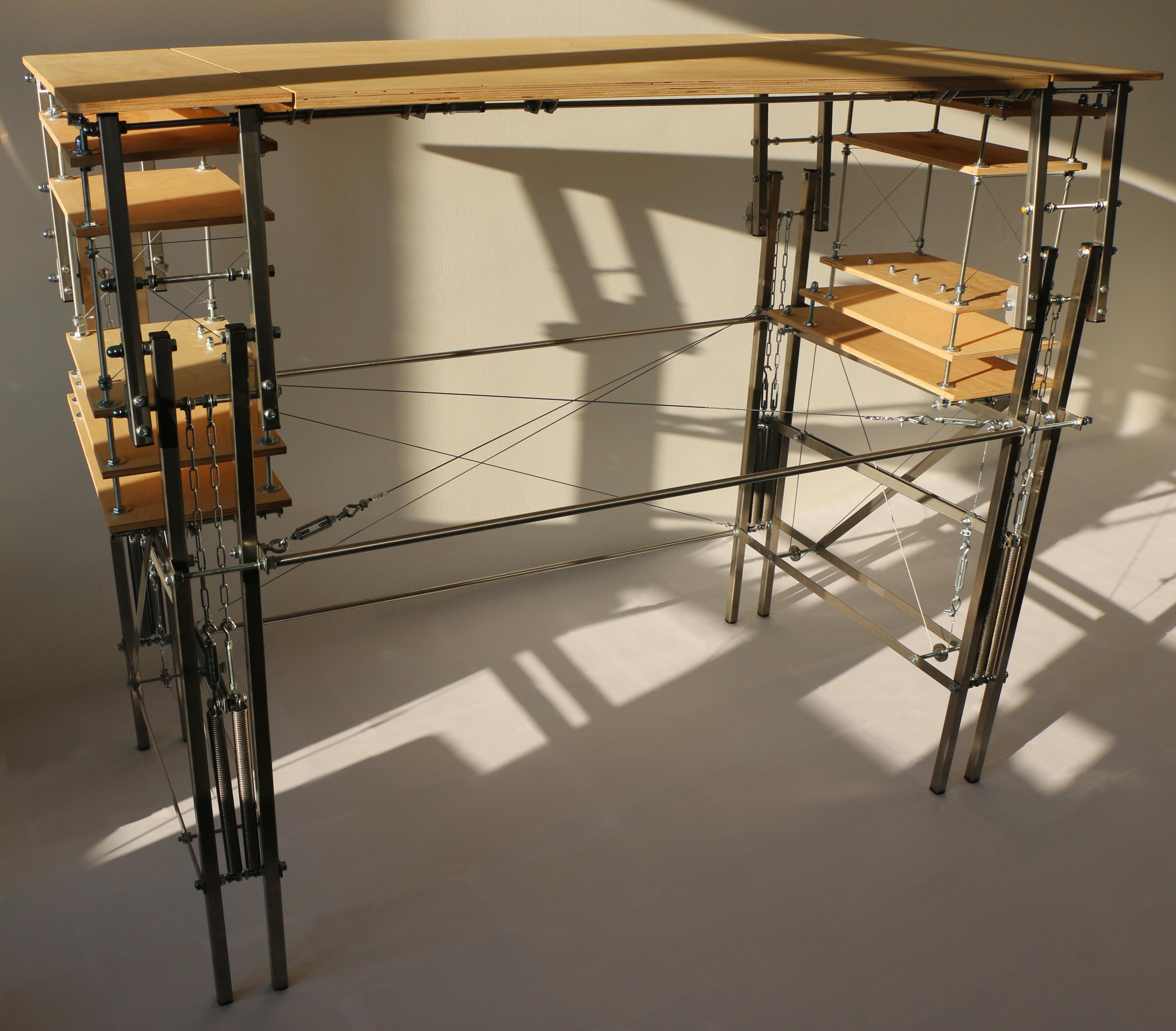 springlift : maker's standing desk