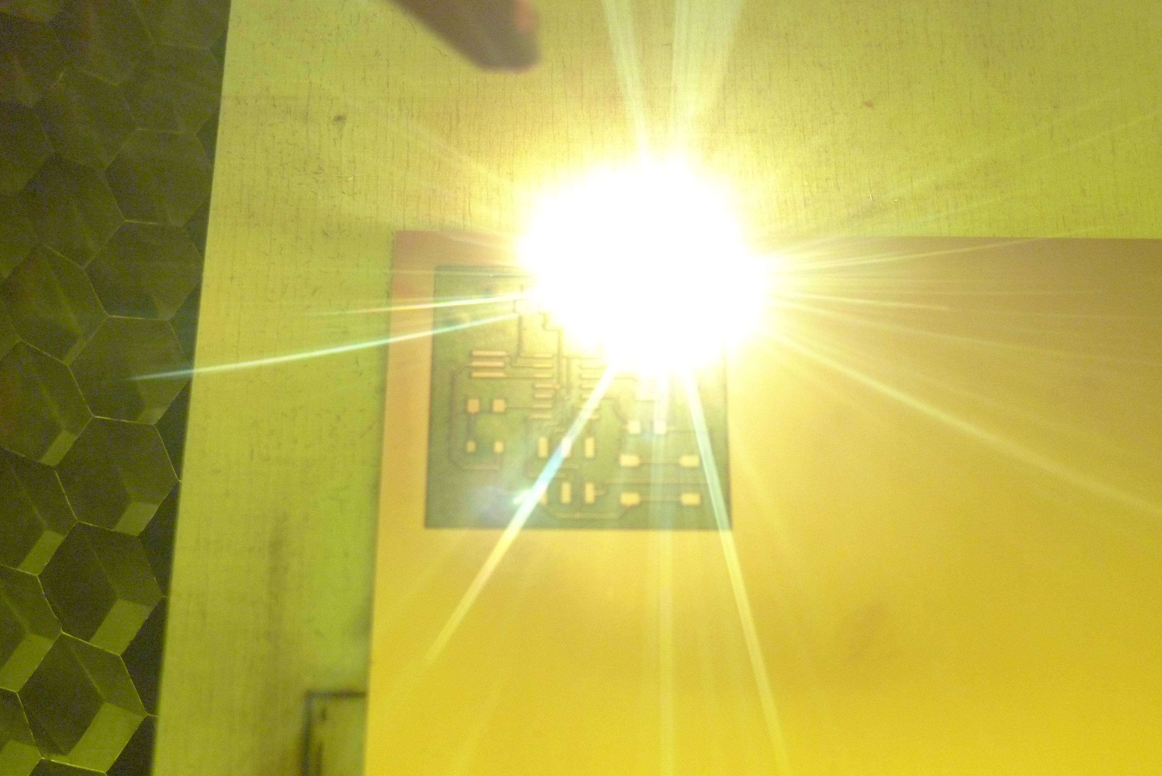 Laser PCB